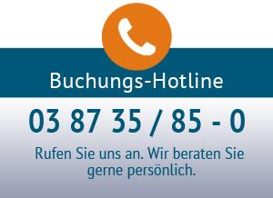 Ferienpark Heidenholz Buchungs-Hotline