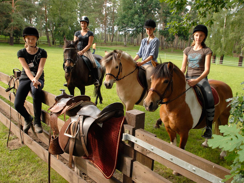 Ferienpark Heidenholz Ponyreiten