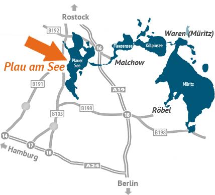 Anfahrt Ferienpark Heidenholz